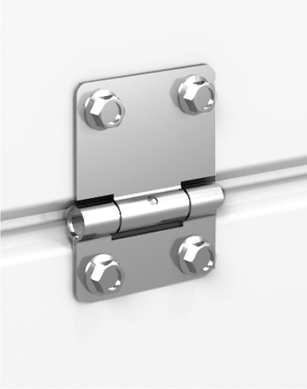 Ворота c фурнитурой нержавеющая сталь AISI430