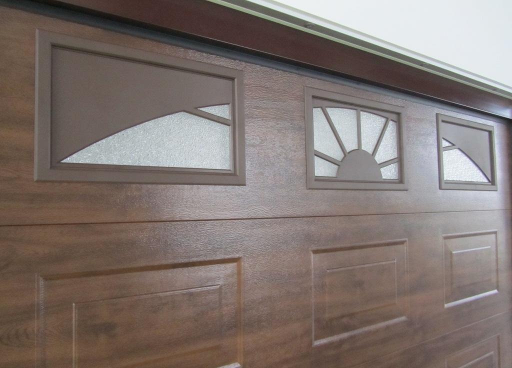 Встроенные окна в ворота